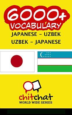 6000  Japanese   Uzbek Uzbek   Japanese Vocabulary