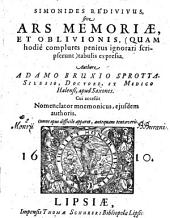 Simonides Redivivus