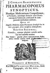Pharmacopaeus synopticus, ...