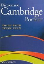 Diccionario Bilingue Cambridge Spanish-English Paperback Pocket Edition