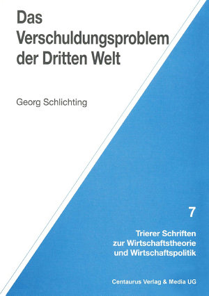 Das Verschuldungsproblem der Dritten Welt PDF