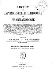 Archiv für experimentelle Pathologie und Pharmakologie: Band 49