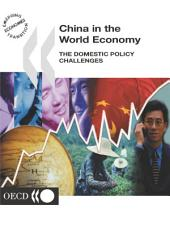 China in the Global Economy China in the World Economy The Domestic Policy Challenges: The Domestic Policy Challenges