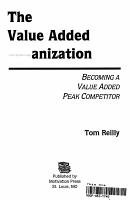 The Value Added Organization PDF