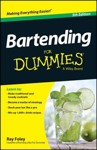 Bartending For Dummies PDF