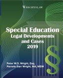 Wrightslaw Special Education Legal Developments and Cases 2019