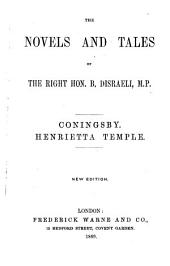 The Novels and Tales of the Right Hon. B. Disraeli, M.P.