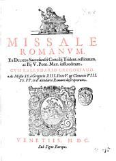 Missale Romanum, ex decreto sacrosanti Concilij Trident. restitutum, ac Pij 5. Pont. Max. iussu editum. Cum Kalendario Gregoriano. Ac missis SS. a Gregorio 13. Sixto 5. & Clemente 8. SS. PP. in Kalendario Romano descriptorum. - Venetiis: sub signo Europæ, 1600(Venetiis: ex typographia Bonifacij Cieræ, 1600). - (22), 260 c.; ill., mus.; 4o.((Marca n.c. (raffigurante il ratto di Europa in cornice) sul front. - Cors.; rom. - Segn.: †-2†8, 3†6, A-2I8 2K4 - Iniziali e fregi xil. ornati. - Stampato in rosso e nero. - Vignetta xil. sul front. - Numerose vignette xil. nel testo