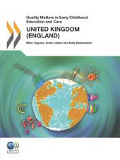 Quality Matters in Early Childhood Education and Care Quality Matters in Early Childhood Education and Care: United Kingdom (England) 2012