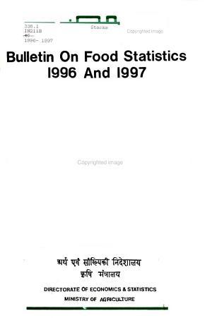 Bulletin on Food Statistics PDF