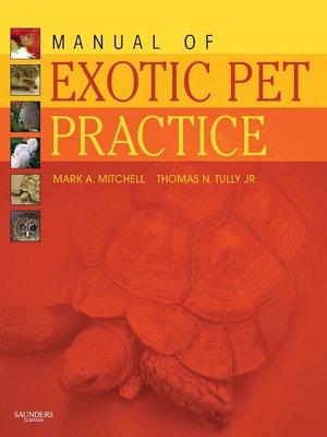 Manual of Exotic Pet Practice - E-Book