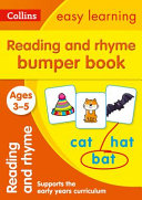 Reading and Rhyme Bumper Book Ages 3 5