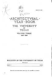 Architecural Year Book: Volume 3