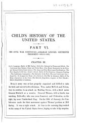 A Child's History of the United States: Volume 3