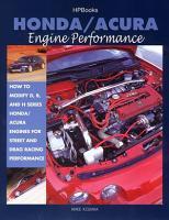 Honda Acura Engine Performance PDF