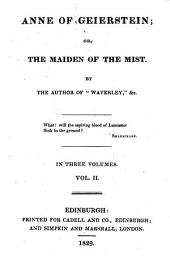 Anne of Geierstein; Or, The Maiden of the Mist: Volume 2