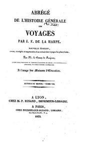 Abrégé de l'histoire générale des voyages: Autour du monde