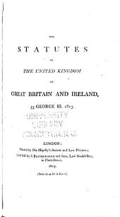 The Statutes of the United Kingdom of Great Britain and Ireland: Volume 53
