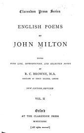 English Poems: Volume 2