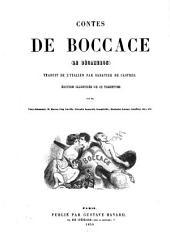 Contes de Boccace (le Décameron) ; traduit de l'Italien par Sabatier de Castres