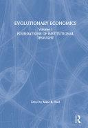 Evolutionary Economics: v. 1