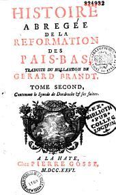 Histoire abrégée de la réformation des Pays-Bas