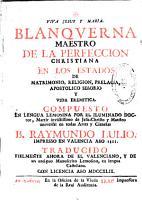 Blanquerna     Traducido fielmente ahora de el valenciano  y de un antiguo manuscrito lemosino  en lengua castellana PDF