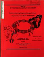Superconducting Magnetic Energy Source  engineering Test Model  SMES ETM   MN TX WA WI  PDF