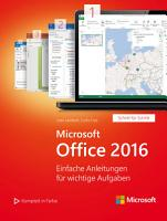 Microsoft Office 2016  Microsoft Press  PDF