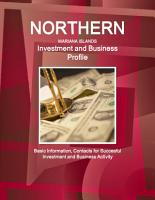 Northern Mariana Islands Investment and Business Profile   Basic Information  Contacts for Succesful Investment and Business Activity PDF
