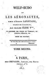 Welf-Budo, ou, Les aéronautes, 2