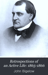 Retrospections of an Active Life: 1865-1866