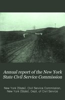 Annual Report of the New York State Civil Service Commission PDF