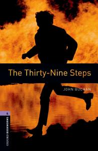 The Thirty-Nine Steps Level 4 Oxford Bookworms Library Book