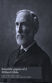 Scientific Papers of J. Willard Gibbs: Volume 1