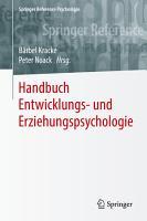 Handbuch Entwicklungs  und Erziehungspsychologie PDF