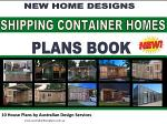 Shipping Container Homes -10 House Plans Book