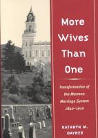 More Wives Than One PDF