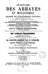 Dictionnaire ... de la Bible: Volume16,Partie1