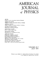 American Journal of Physics PDF