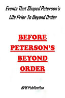 Before Peterson's Beyond Order