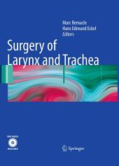 Surgery of Larynx and Trachea