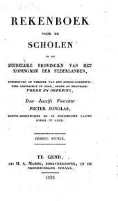 Rekenboek voor de scholen in de Zuidelyke provincien van het koningrijk der Nederlanden ...