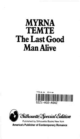 The Last Good Man Alive PDF
