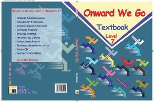 Onward We Go Level Seven  Textbook  PDF