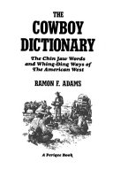 The Cowboy Dictionary