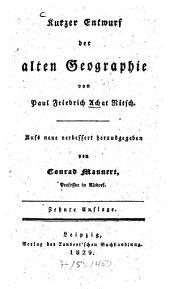 Kurzer Entwurf der alten Geographie