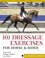 101 Dressage Exercises for Horse   Rider PDF