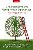Understanding and Using Health Experiences PDF