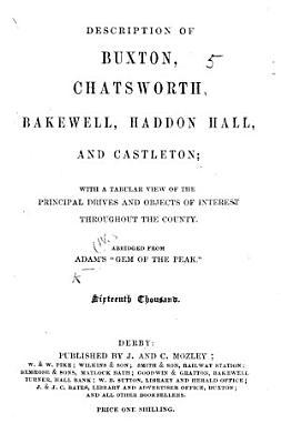 Description of Buxton     and Castleton     Eleventh thousand PDF